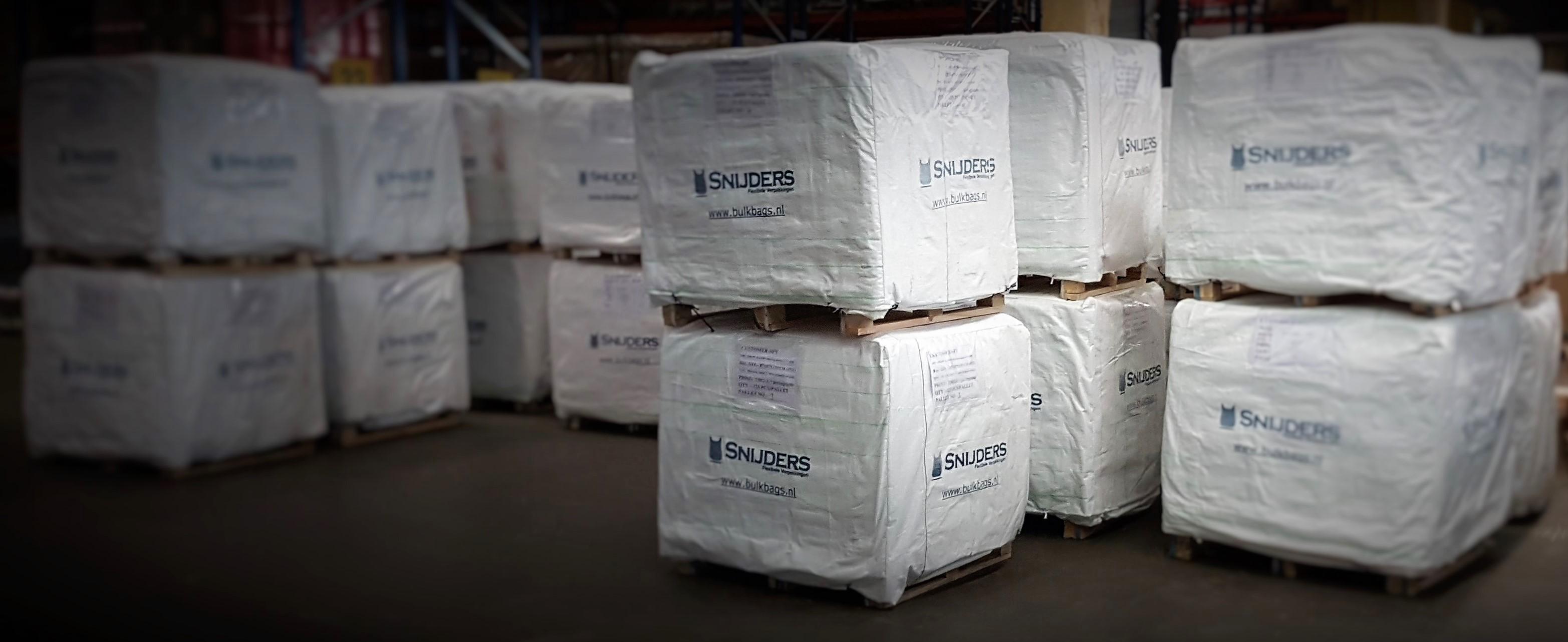 big bags op pallets